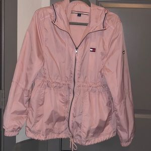 Pink Tommy Hilfiger Rain Coat